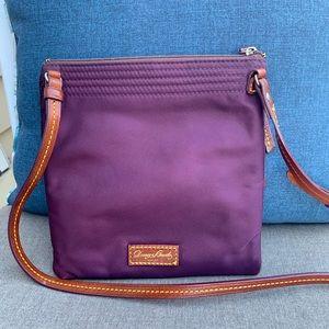 Dooney & Bourke Bags - Dooney and Bourke Triple Zip Crossbody Purple